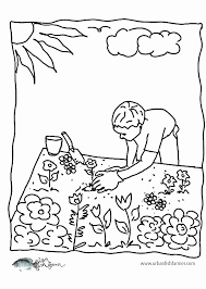 Garden coloring pages are a wonderful subject for kids and adults. Vegetable Garden Coloring Sheet Inspirational Printable Drawing Barka Meriwer Coloring