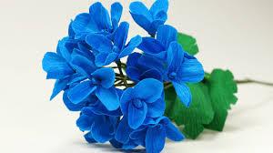 Paper Flower Bouquet Tutorial Paper Flower Diy Paper Hydrangea Flower Bouquet Making Tutorial