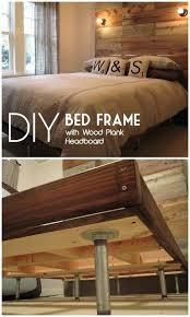 diy wooden bed frame easy bed frame projects you can build on a budget check out diy wooden bed frame
