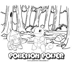Pokemon Power Coloringpage Kleurplaat Pogo Coloring Pages