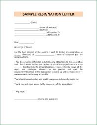 14 Short Personal Resignation Letter Applicationsformat Info