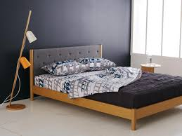 modern contemporary bedroom furniture fascinating solid. Bedroom:Fascinating Bedroom Furniture Ideas Mid Century Modern Style Bed Frame With A Smooth Wood Contemporary Fascinating Solid
