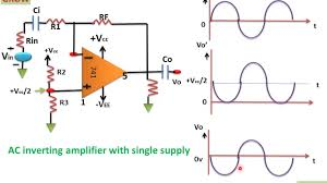 Single Supply Op Amp Design Ac Amplifier With Single Supply Voltage