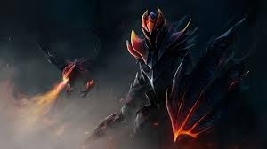 story hero dota 2 davion the dragon knight steemit