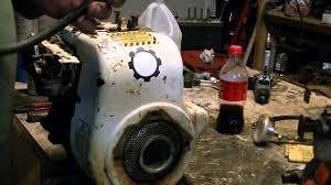starting valve job on H70 tecumseh engine part 1 - YouTube