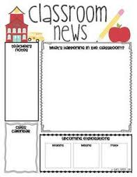 Monthly Newsletter Template For Teachers Free Monthly Calendars And Newsletter Templates Finally Just What