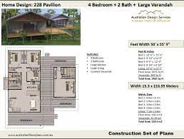 4 bedroom pier and beam house plans