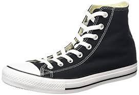 converse unisex. converse unisex chuck taylor all star high top (4.5 men 6.5 women, black) i