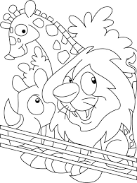Small Picture Zoo coloring page Download Free Zoo coloring page for kids