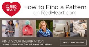Red Heart Free Patterns Awesome How To Find A Pattern On RedHeart Red Heart Blog