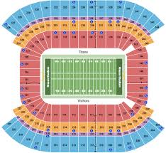 Nissan Stadium Seating Chart Nashville
