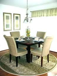 round rugs under dining table round rug under square dining table rug size under dining table