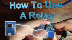 how to use a relay the arduino