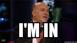 Image result for shark tank I'm in meme