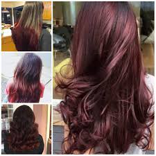 Black Cherry Hair Color Ideas For