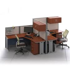 office cubicle desks. Delighful Office TwoPerson LDesk Workstation Set 75487 With Office Cubicle Desks C