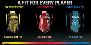Easton Hockey Size Chart Bauer Hockey Gloves Size Chart Images Gloves And
