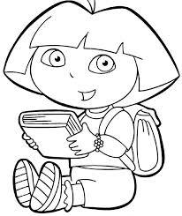 dora coloring book 5
