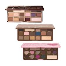 the too faced chocolate bar trio means you can get a free palette allure