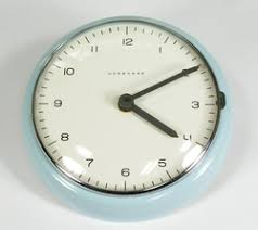 max bill modern office wall clock. A Max Bill For Junghans Wall Clock Circa 1954: Prime Example Of The Genuine Article Modern Office