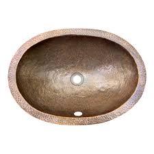 oval undermount sink. Perfect Undermount Oval Undermount Basin U2013 21u2033 X 1512u2033 Hammered Antique In Sink