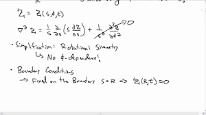 separation of variables cylindrical coordinates part 1