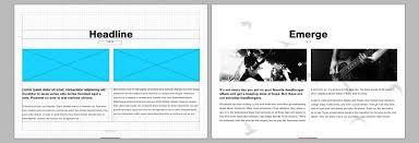 Designing An Ebook In Indesign Ebook Page Design Adobe Indesign Tutorials