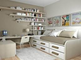 Interesting Ideas Small Bedroom Office Innovative And Images