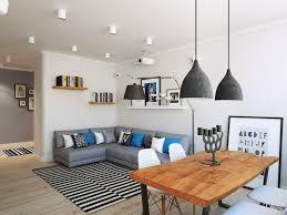 A mosca un appartamento dello stile scandinavo casa di stile