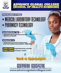 School Billboard Design Advance Globall College School Health Sciences Promo