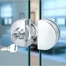 outstanding commercial glass door locks stainless steel glass door lock commercial glass door handle parts