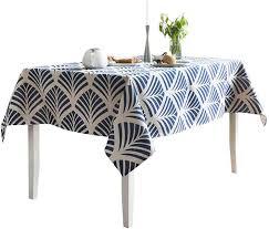Minimalistische Moderne Tuch Tischdecke Baumwolle Geometrische