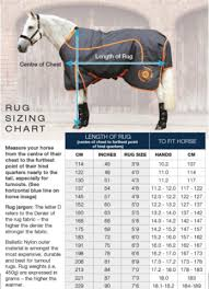 Size Charts Premier Equine Lauras Tack Room