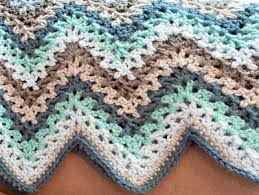 V Stitch Crochet Pattern Fascinating V Stitch Crochet Ripple Afghan AllFreeCrochet