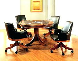 rolling dining chairs. Table And Chairs With Casters Dining Caster Wonderful Tables Furniture Image . Rolling H