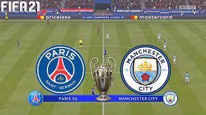 FIFA 21 | PSG vs Manchester City - UEFA Champions League - Full Match &  Gameplay - YouTube
