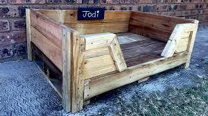 pallet board furniture. Pallet Dog Bed   Small Board Furniture
