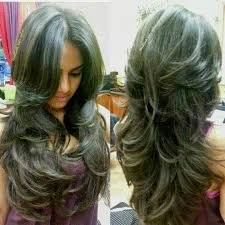 Bagi anda pemilik tipe rambut tebal, cobalah potongan layer yang memukau kali ini. 15 Model Rambut Layer Panjang Dan Pendek Gaya Rambut Panjang Gaya Rambut Potongan Rambut Panjang