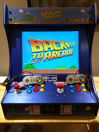 4 Player Arcade Cabinet Kit Project Mame Weecade Building A Mame Cabinet Bartop Or