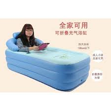 inflatable spa bathtub portable air bath tub home swimming pool kolam mandi spa dewasa