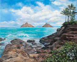 na mokulua by wendy roberts a view of the mokulua islands off the coast of oahu as seen from lanikai s rocky s in kailua oahu hawaii