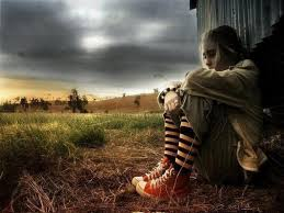 sad alone in rain hd