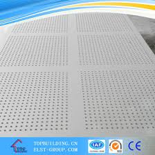 perforated gyspum board perforated plasterboard square round hole customized