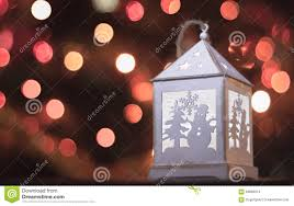 Little White Christmas Lights Christmas Lantern White Light Stock Photo Image Of Lights