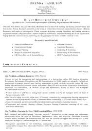 Resume Human Resource Samples Of Good Resume Best Inspiration For