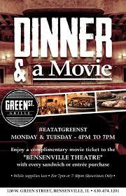 Movie Flyer Dinner A Movie 15