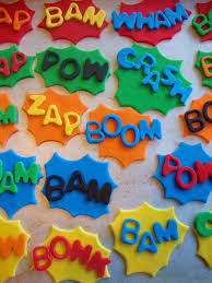Fondant Cupcake Toppers 30 For 12 Superhero Wedding Inspiration