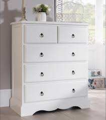 antique white furniture. ROMANCE White Bedroom Furniture Bedside Table Chest Of Drawers Bed Wardrobe EBay Intended Antique
