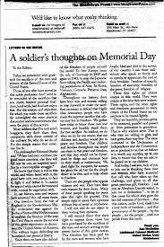 middletown republican press releases 2009 essay on memorial day