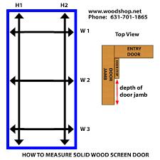 door jamb diagram. Howtomeasure-screendoor-standard1.jpg Door Jamb Diagram